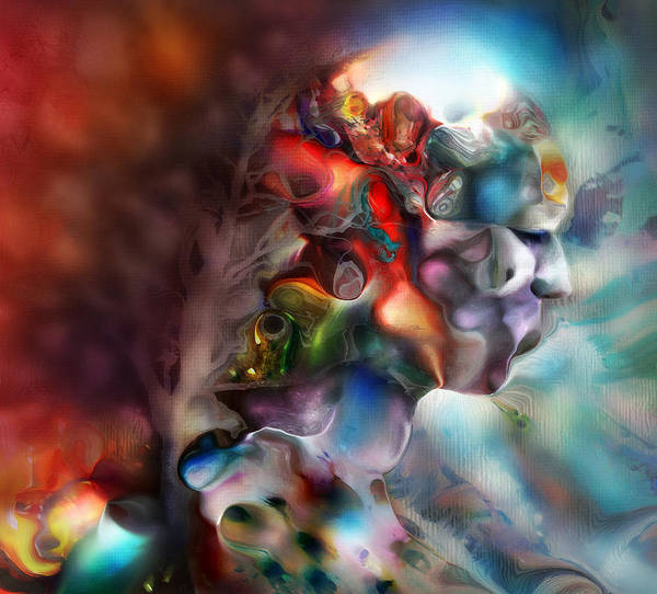 Dream Art Print featuring the digital art Become One by S Csilla