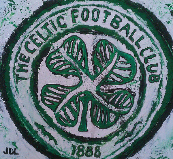 Celtic Art Print featuring the painting Come On The Hoops by James Layton