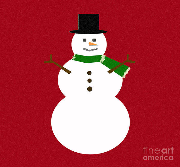 Christmas Art Print featuring the digital art Holiday Hugs by Amanda Barcon
