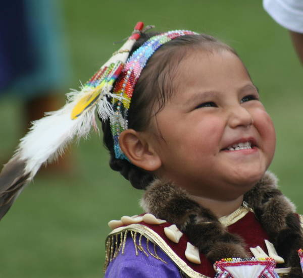 Pow Wow Art Print featuring the photograph Happiness by Laurie Prentice
