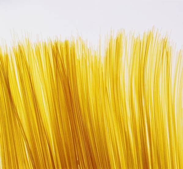 Pasta Art Print featuring the photograph Spaghetti by David Chapman