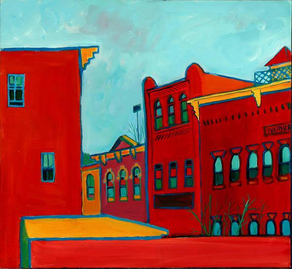 City Art Print featuring the painting Opera House by Debra Bretton Robinson
