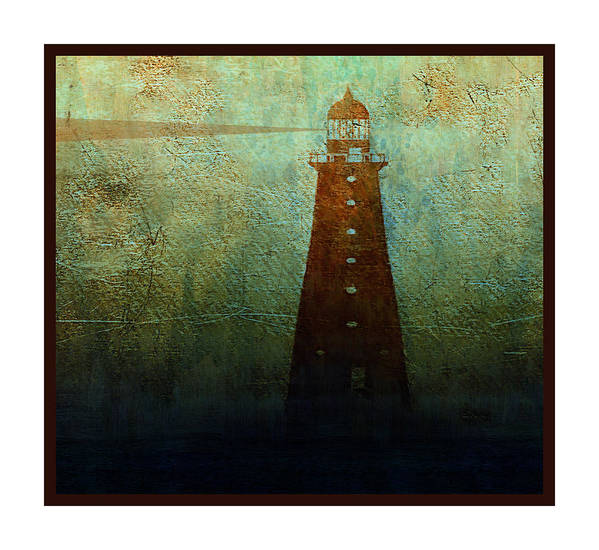 Beacon Art Print featuring the mixed media Beacon by Michael Magnus