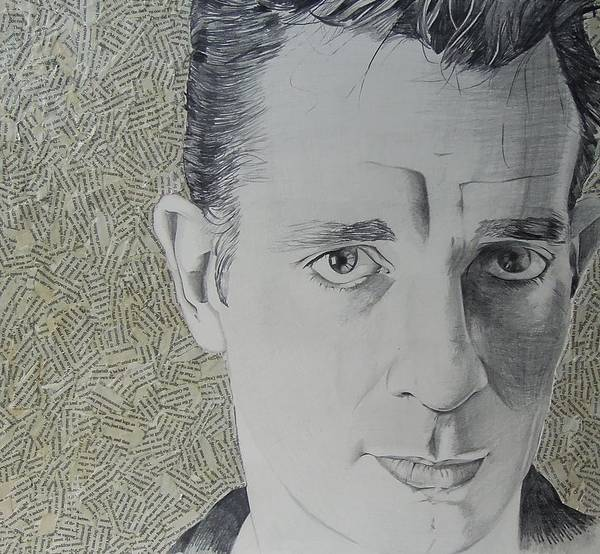 Jack Kerouac Art Print featuring the mixed media Dharma Bum by Ben Jackson
