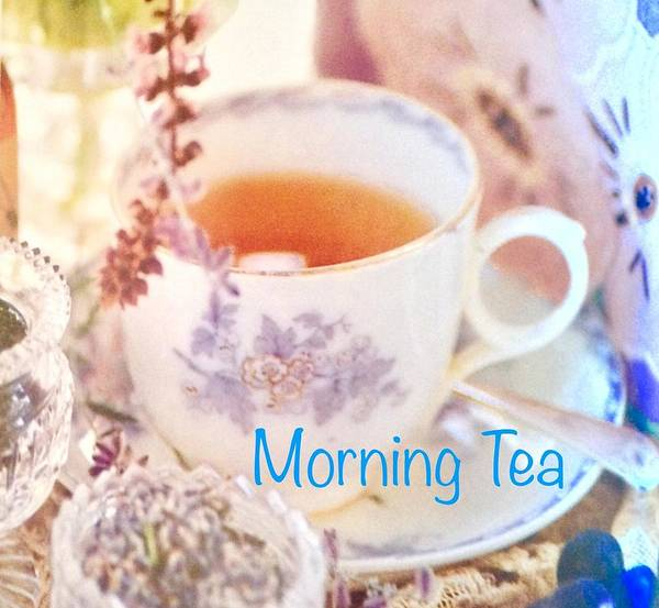 Art Print featuring the photograph Morning Tea by Jacqueline Manos