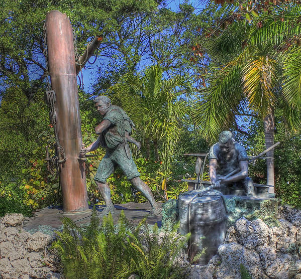 Key West Art Print featuring the photograph The Wreckers by Shelley Neff