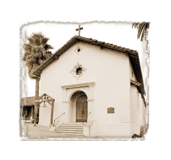 California Missions Art Print featuring the digital art Mission San Rafael Arcangel - II by Ken Evans