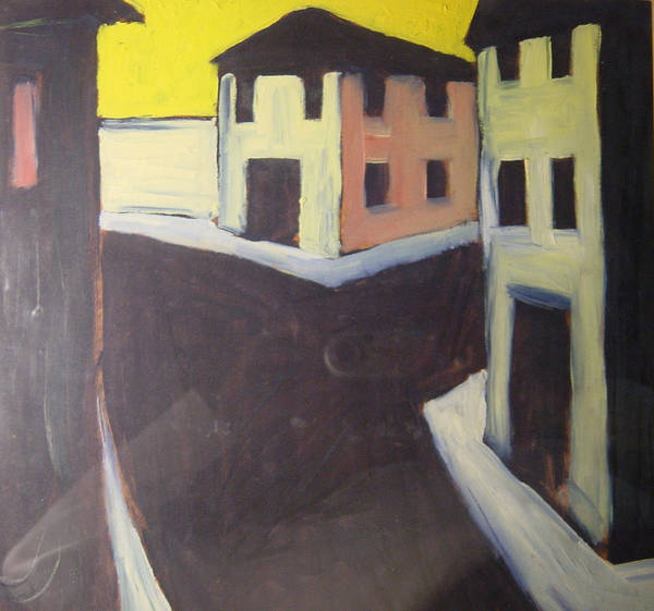 Art Print featuring the painting Streets by Biagio Civale