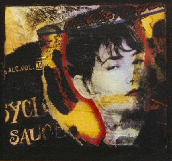 Woman Art Print featuring the mixed media Tabloid by Lois Hogg