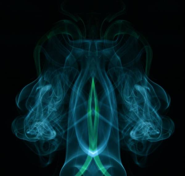 Smoke Photography Art Print featuring the photograph 16 by James Cummings