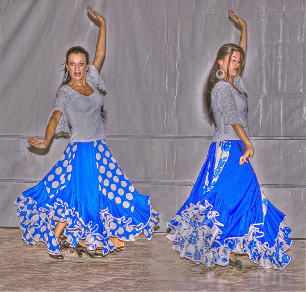 Dancer Art Print featuring the photograph Spanish Dancers by Rod Jones