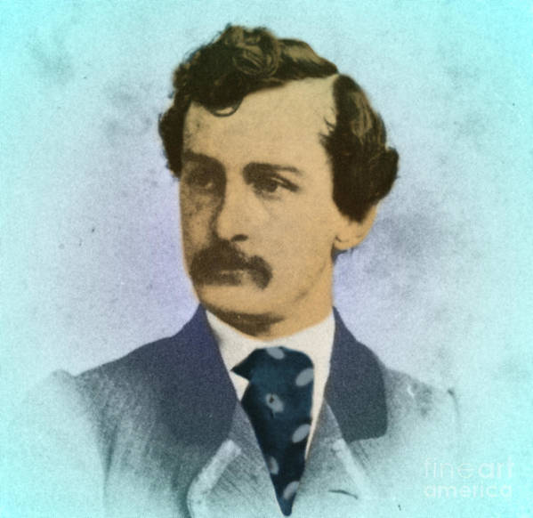 History Art Print featuring the photograph John Wilkes Booth, Assassin by Photo Researchers