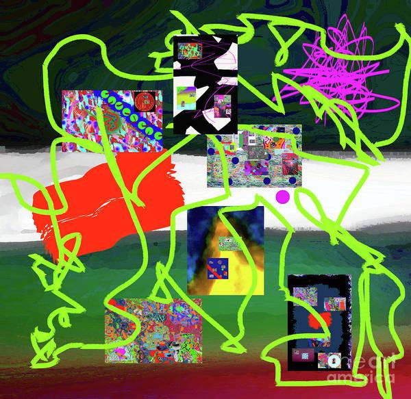 Walter Paul Bebirian Art Print featuring the digital art 9-18-2015babcdefghijklmnopqrtuvwxyzabcdef by Walter Paul Bebirian