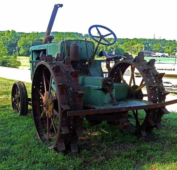 Hurricane Mills Art Print featuring the photograph Antique Tractor 2 by Ron Kandt