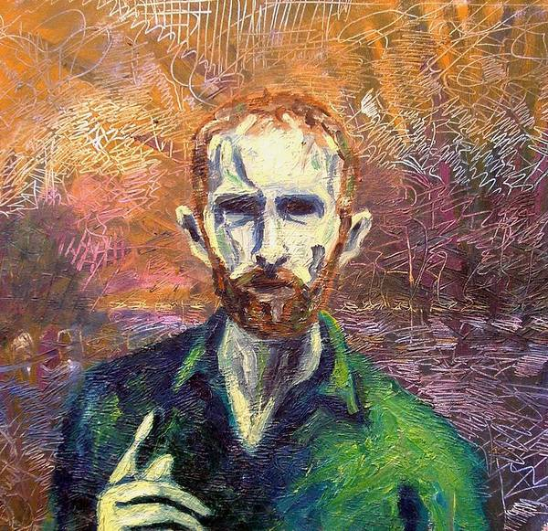 Self Portrait Art Print featuring the painting Self Portrait by John Nolan