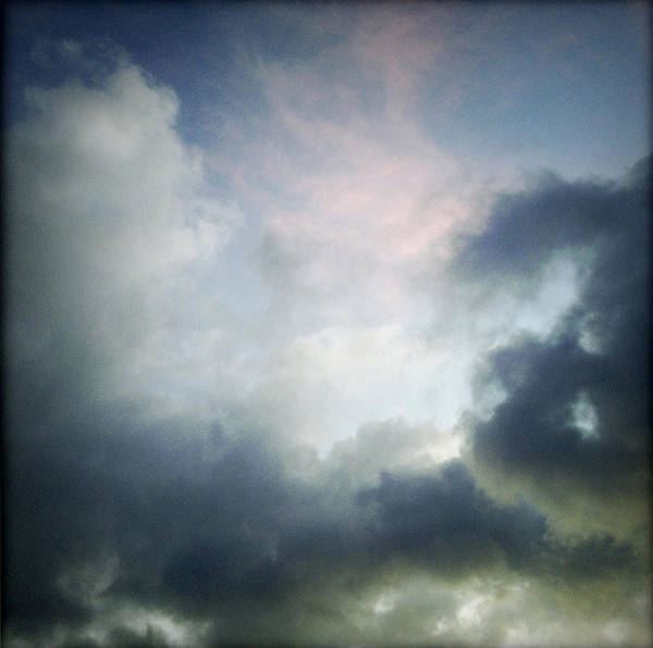 Clouds Print featuring the photograph Storm Clouds by Les Cunliffe