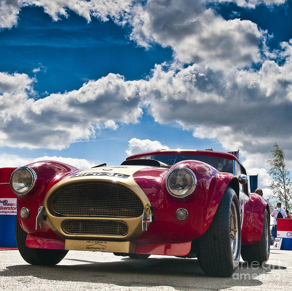 Oliver Bryant Print featuring the photograph Ac Cobra by Mike Hayward