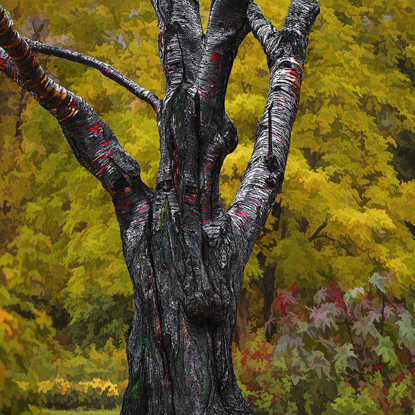 Autumn Art Print featuring the photograph Autumn Trees3 by Vladimir Kholostykh