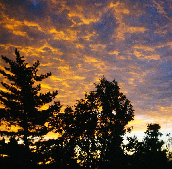 Sunset Art Print featuring the photograph Evening by Bernard Barcos