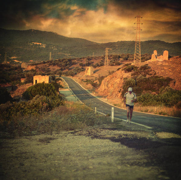 Road Art Print featuring the photograph Just A Dream by Taylan Apukovska