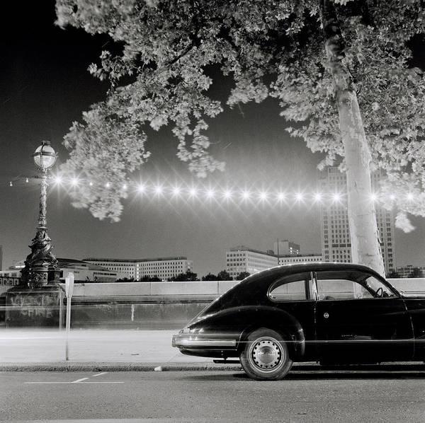 Porsche Art Print featuring the photograph Classic London by Shaun Higson