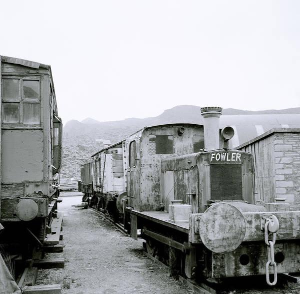 Train Art Print featuring the photograph The Steam Train by Shaun Higson