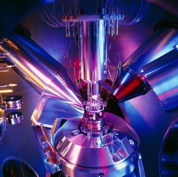 Scanning Electron Microscope Art Print featuring the photograph Scanning Electron Microscope by Colin Cuthbert
