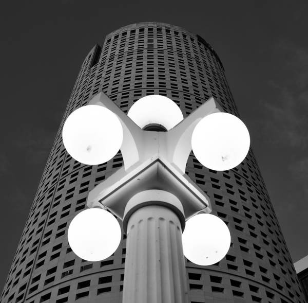 Fine Art Photography Art Print featuring the photograph Tampa Architecture by David Lee Thompson