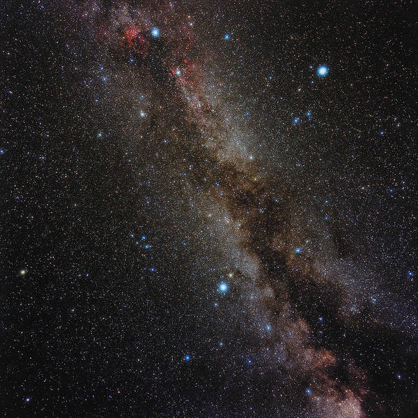 Milky Way Art Print featuring the photograph Milky Way by Eckhard Slawik