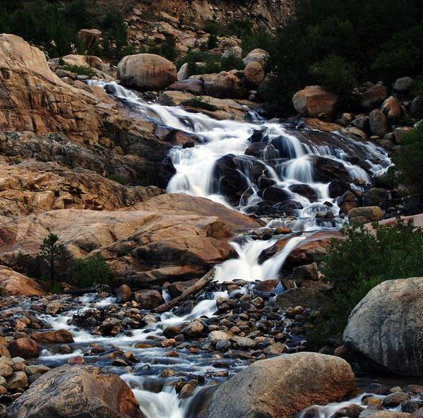 Cataracts Art Print featuring the photograph Alluvial Fan by Doug Hubbard