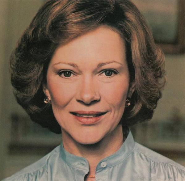 History Art Print featuring the photograph First Lady Rosalynn Carter by Everett