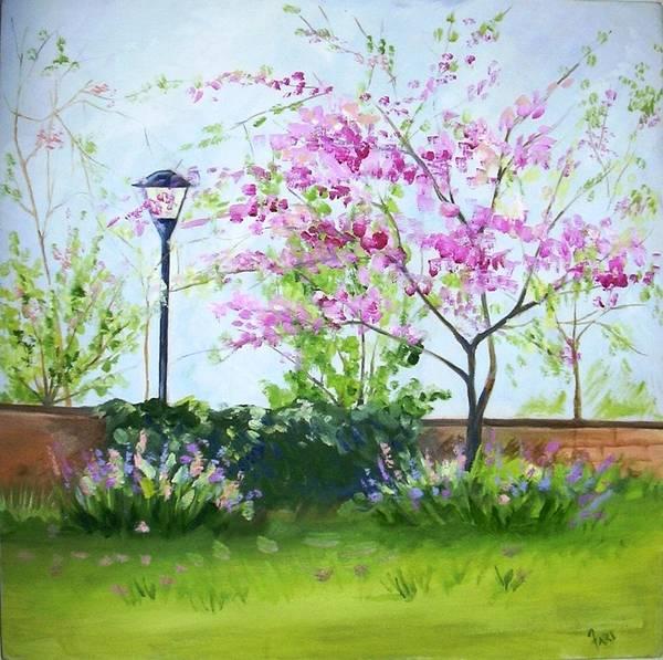 Landscape Art Print featuring the painting Landscape by Fariha Rashid