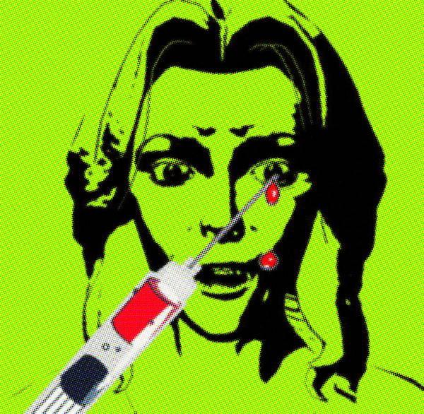 Equipment Art Print featuring the photograph Needle Phobia by Christian Darkin