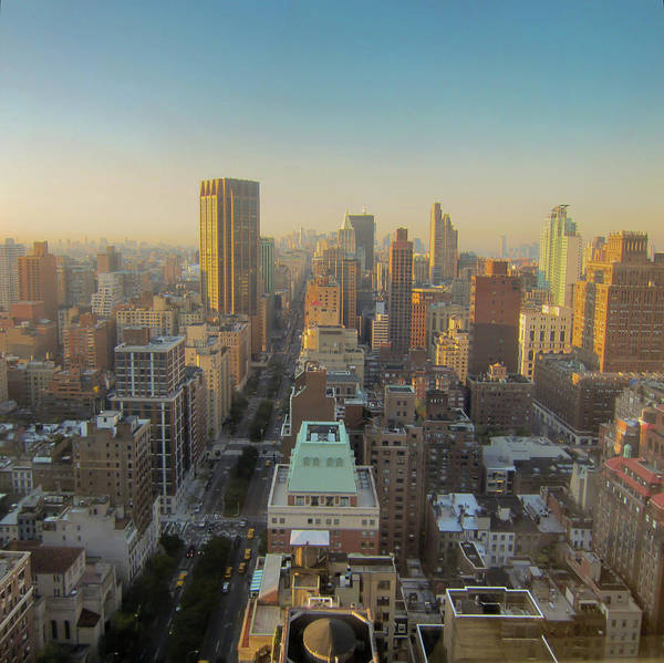 Horizontal Art Print featuring the photograph Park Avenue by Patrick Davidson-Locke