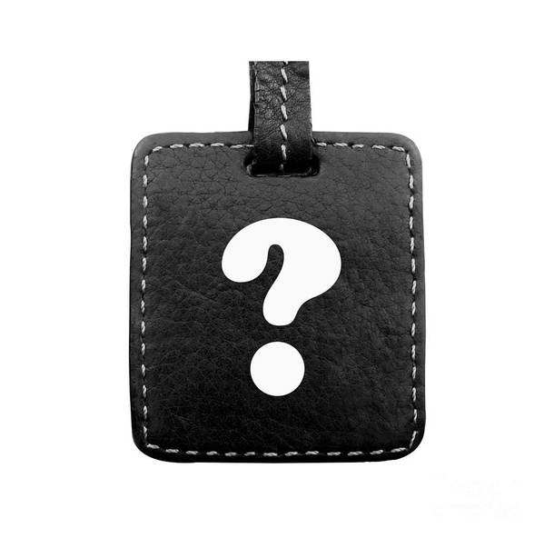 Question Art Print featuring the photograph Question Mark by Blink Images
