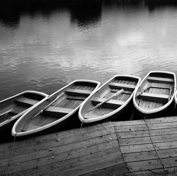 Horizontal Art Print featuring the photograph Rowing Boats by Matthew Fleming