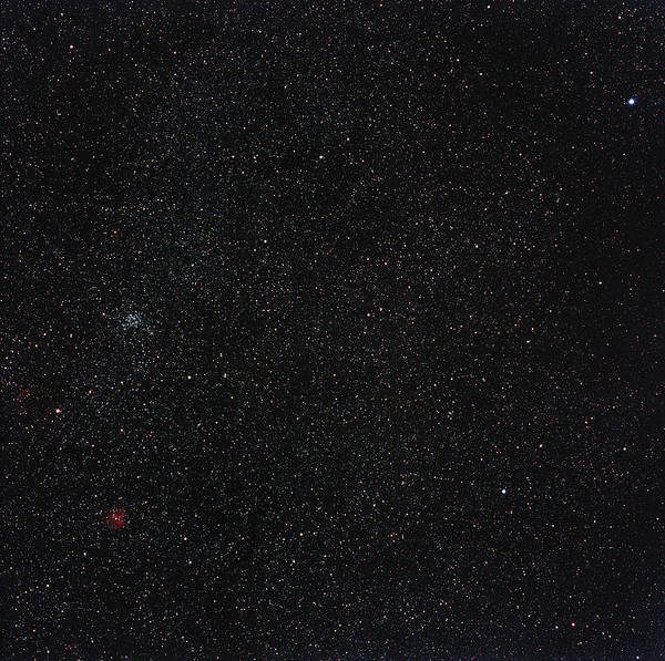 Star Cluster Art Print featuring the photograph Star Cluster M35 by Eckhard Slawik