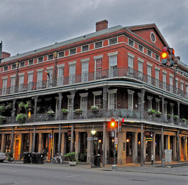 New Orleans Art Print featuring the photograph The Corner by Helen Haw