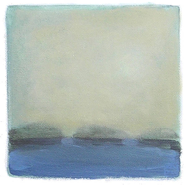 Landscape Art Print featuring the painting Untitled by Mary Brooking