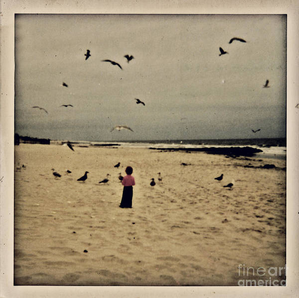 Ocean Art Print featuring the photograph When Promises Were For Keeps by Dana DiPasquale