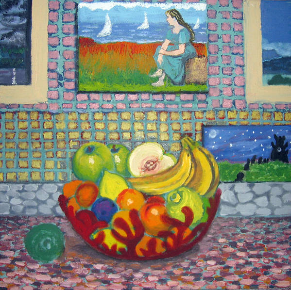 Still Life Art Print featuring the painting A Still Life by Susan Stewart