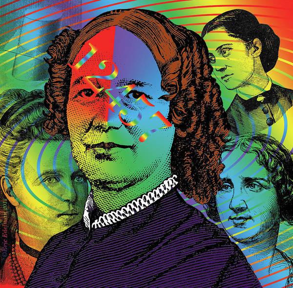Digital Collage Art Print featuring the digital art Ancestral Memory by Eric Edelman