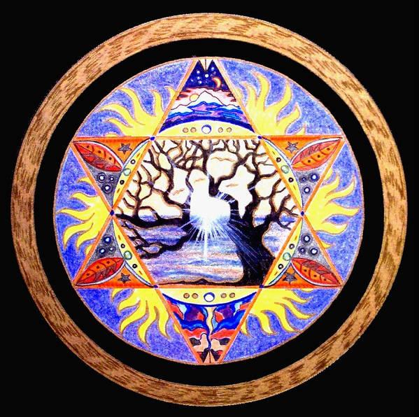 Tree Art Print featuring the painting Awakening by Pam Ellis