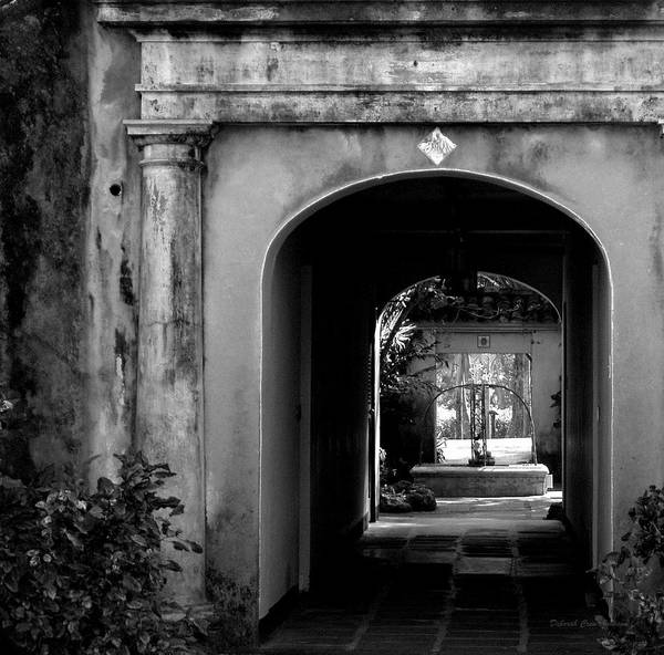 Breezeway Art Print featuring the photograph Breezeway by Deborah Crew-Johnson