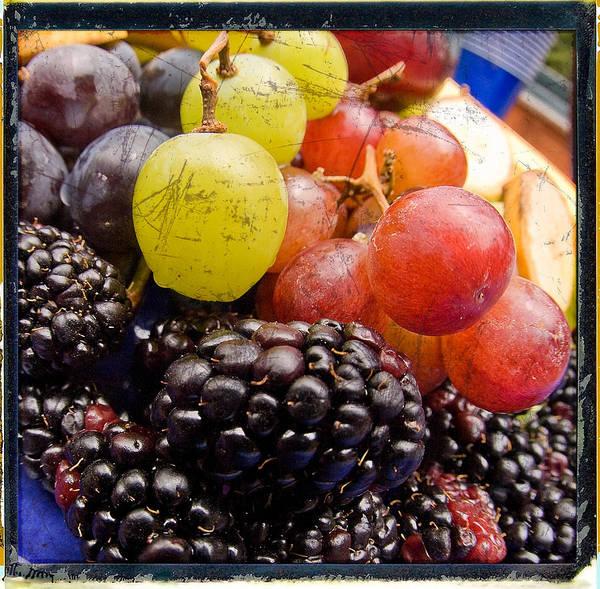 Fruit Art Print featuring the photograph Fresh Not Frozen by Jeffery Ball