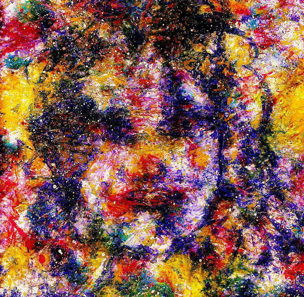 Expressionism Art Print featuring the painting Joyful Clown by Natalie Holland