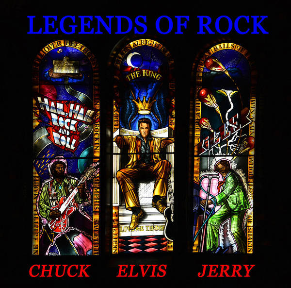 Legends Of Rock Art Print featuring the photograph Legends Of Rock by David Lee Thompson