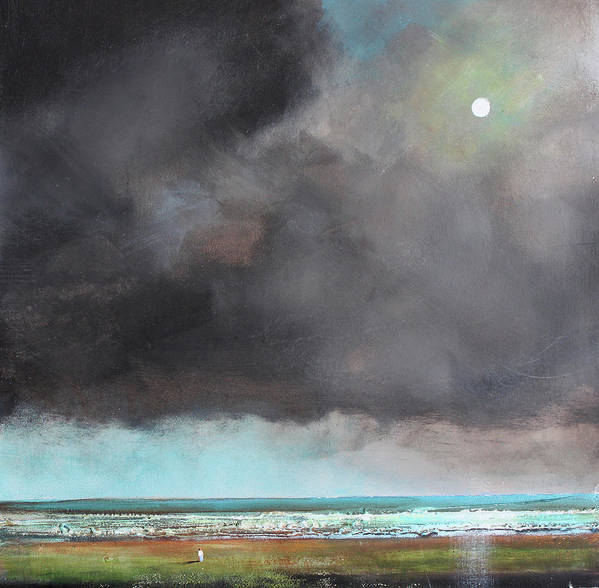 Storm Art Print featuring the painting Light Of Hope by Toni Grote