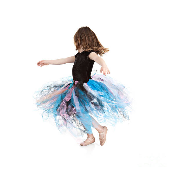 Little Girl Art Print featuring the photograph Little Ballerina by Cindy Singleton