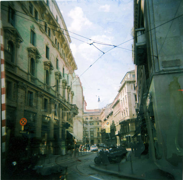 Milano Art Print featuring the photograph Milan by Anna Belingheri